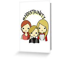 #holytrinity Greeting Card