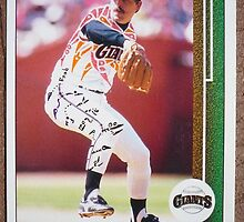 156 - Craig Lefferts by Foob's Baseball Cards