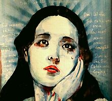 You should never be ashamed of your tears.  by John Dicandia  ( JinnDoW )
