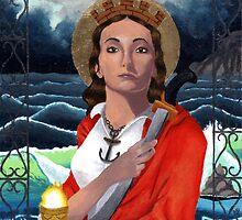 Saint Barbara by NicPhillips