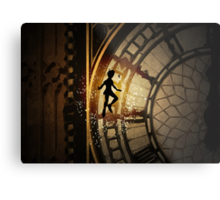 Peter Pan inspired design. Metal Print