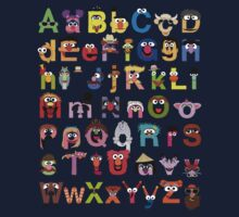 Sesame Street Alphabet Kids Clothes