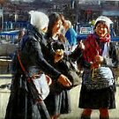 Three Schoolgirls  by RobynLee
