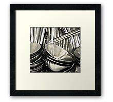 ladles Framed Print