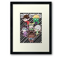 YOUNG AVENGERS Framed Print