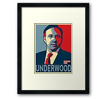 Underwood Framed Print