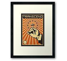 Transcend Framed Print