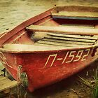 An Old Kazakh Row Boat by Kadwell