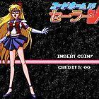 Sailor V Game Start Screen by SleepingPhoenix