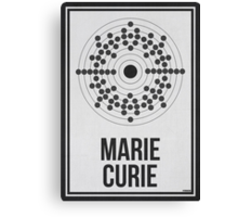 MARIE CURIE - Women in Science Collection Canvas Print