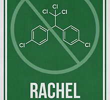 RACHEL CARSON - Women Scientist Posters by Hydrogene