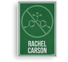 RACHEL CARSON - Women in Science Collection Canvas Print
