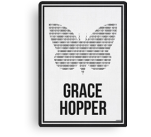 GRACE HOPPER - Women in Science Collection Canvas Print