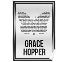 GRACE HOPPER - Women in Science Collection Poster