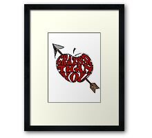 Crazier Than You Framed Print