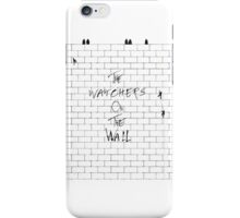 The Watchers On Pink Floyd's Wall iPhone Case/Skin