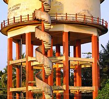 Water Tower © by Ethna Gillespie