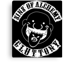 Sins of Alchemy - Gluttony (Patch) Canvas Print