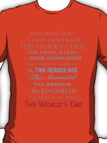 The World's End T-Shirt