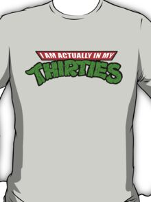 Teenage Mutant Ninja Thirties T-Shirt