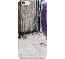 { Corners: where the walls meet #14 } iPhone Case/Skin