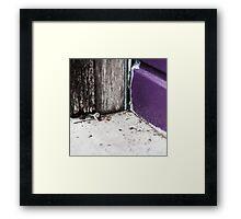 { Corners: where the walls meet #14 } Framed Print