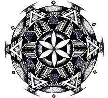 Mandala #6 by litedawn