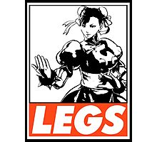 Chun-Li Legs Obey Design Photographic Print