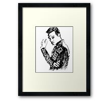 Moriarty- Did you Miss Me?- rough Framed Print