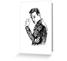 Moriarty- Did you Miss Me?- rough Greeting Card