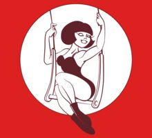 Trapeze aerial artist. Pin-up by JeraRS