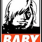 Dante Baby Obey Design by SquallAndSeifer