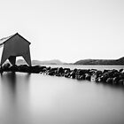 A quiet day at Hafrsfjord by Erik Brede