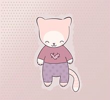 Cute cat clothing by jentesmiler