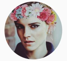 Emma Watson Flower Crown by dannihadi