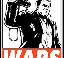 Frank West Wars Obey Design by SquallAndSeifer
