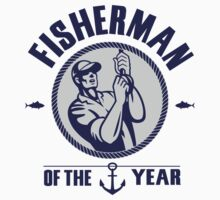 Fisherman of the year Kids Clothes