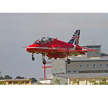 Red Arrows Farnborough Airshow Photographic Print