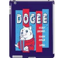 DOGEE - VERY DRINK, SUCH COLD, WOW iPad Case/Skin