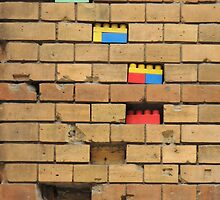 Brick and Lego  by Alexandra Lavizzari