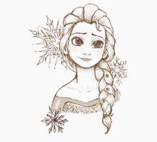 Elsa Snowflake by HollieBallard