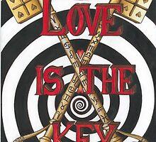 Love is the Key by Francesca Love Artist