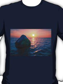 Baltic Sea sunset on the island Poel T-Shirt