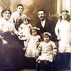 Tunks Family - 1914 - Western Victoria, Australia by Bev Pascoe