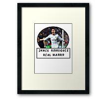 James Rodriguez (Real Madrid) Framed Print