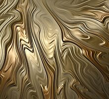 Golden Flow by John Edwards