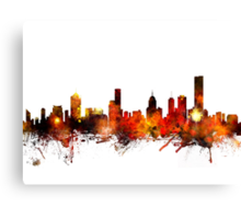 Melbourne Australia Skyline Canvas Print