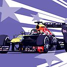 Championship Cars - Vettel 2013 by Tom Clancy