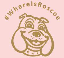 #WhereIsRoscoe (Black & Gold) Kids Clothes