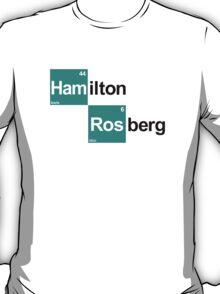 Team Hamilton Rosberg (white T's) T-Shirt